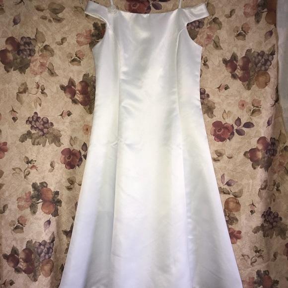 Jessica Mcclintock Dresses Girls White Formal Dress Poshmark